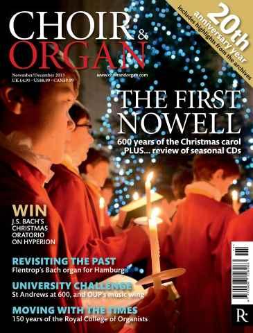 Choir & Organ issue November - December 2013