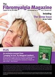 Fibromyalgia Magazine Nov. 2013 issue Fibromyalgia Magazine Nov. 2013