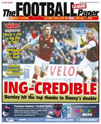 The Football League Paper issue Sunday 27th October 2013