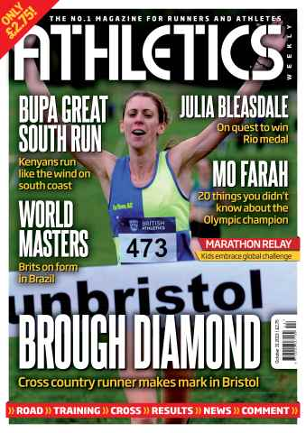 Athletics Weekly issue 31st October 2013