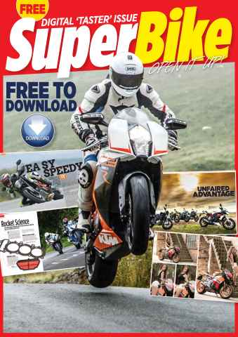 Superbike Magazine issue FREE TASTER ISSUE