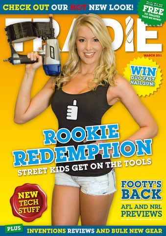 Tradie issue TRADIE March 2011