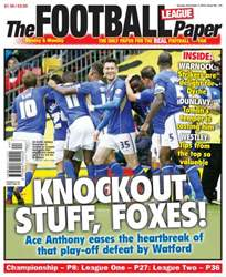 The Football League Paper issue Sunday 3rd November  2013