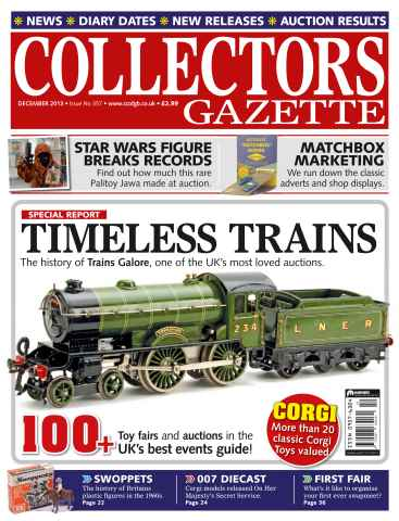 Collectors Gazette issue December 2013