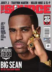 The Source Magazine issue #259 The Source Magazine - Big Sean