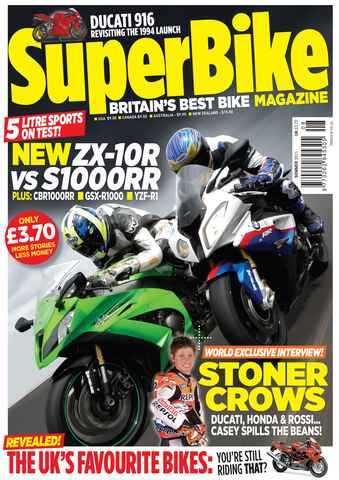 Superbike Magazine issue Summer 2011