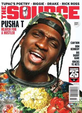 The Source Magazine issue #260The Source Magazine Pusha T