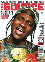 The Source Magazine issue #260The Source Magazine Pusha T