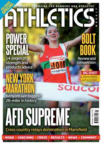 Athletics Weekly issue 07/11/2013