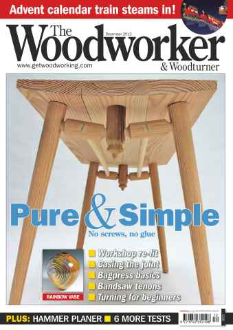The Woodworker Magazine issue December 2013