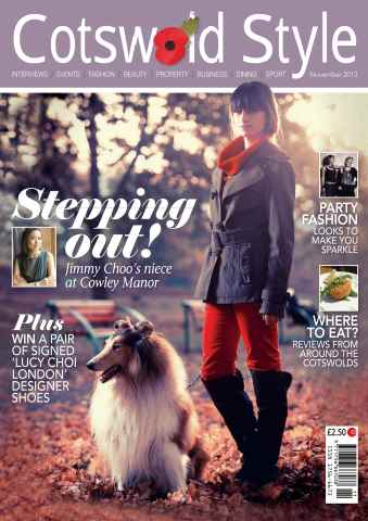 Cotswold Style issue Cotswold Style November 2013