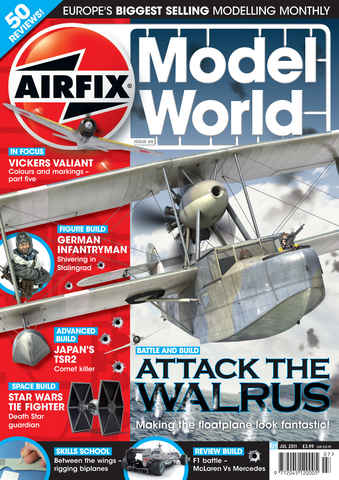 Airfix Model World issue July 2011