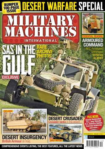 Military Machines International issue December 2013