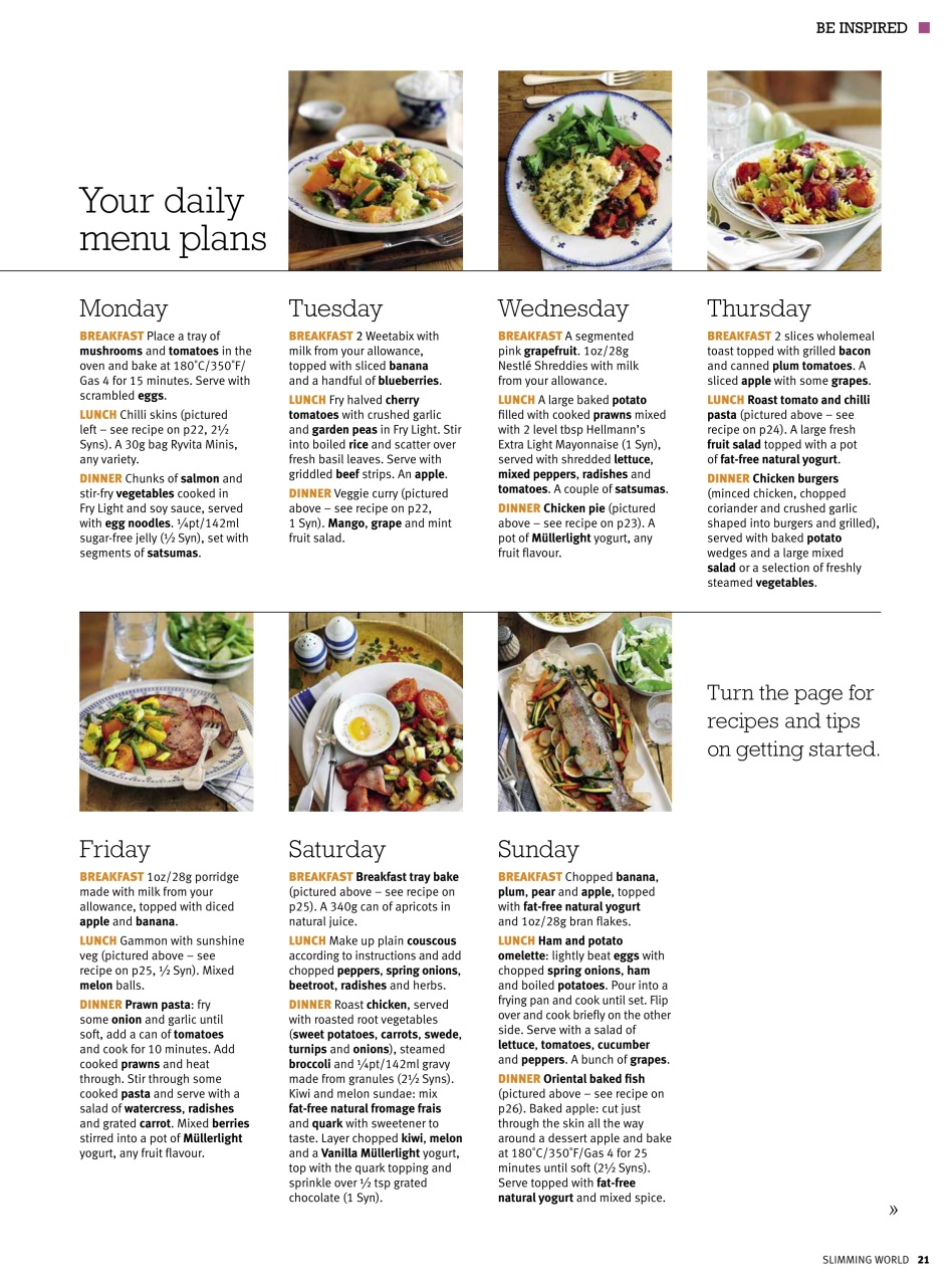 Slimming World March April 2010