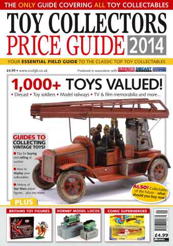 Collectors Gazette issue Toy Collectors Price Guide 2014