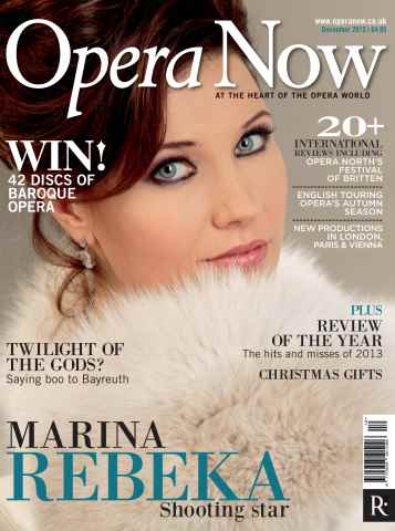 Opera Now issue December 2013