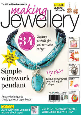 Making Jewellery issue July 2011