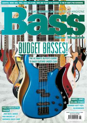 Bass Guitar issue 98 December 2013