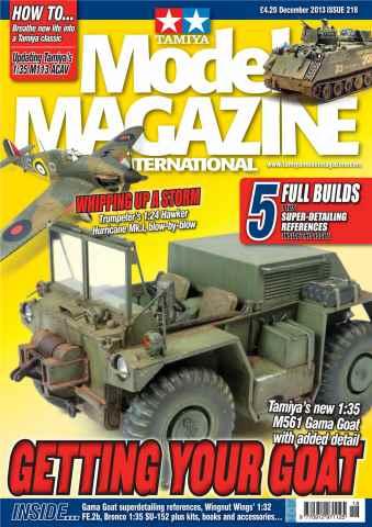 Tamiya Model Magazine issue 218