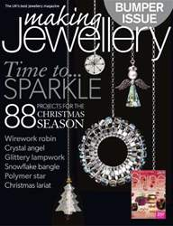 Making Jewellery issue December 2013