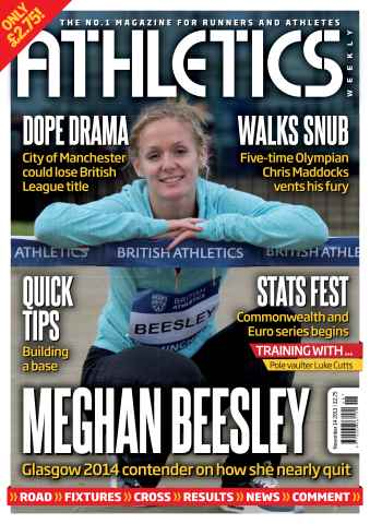 Athletics Weekly issue 14/11/2013