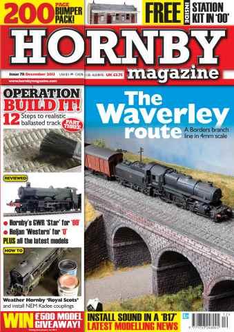 Hornby Magazine issue December 2013