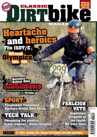 Classic Dirt Bike issue Issue #29