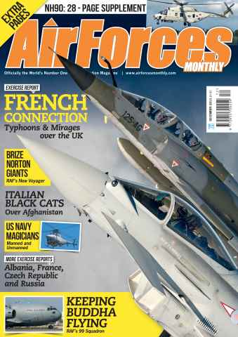 AirForces Monthly issue December 2013