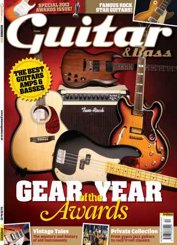 Guitar & Bass Magazine issue December 2013