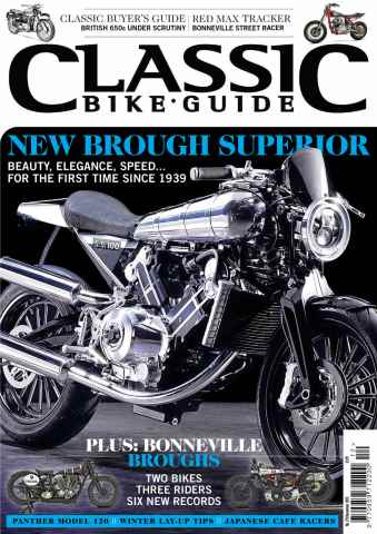 Classic Bike Guide issue December 2013