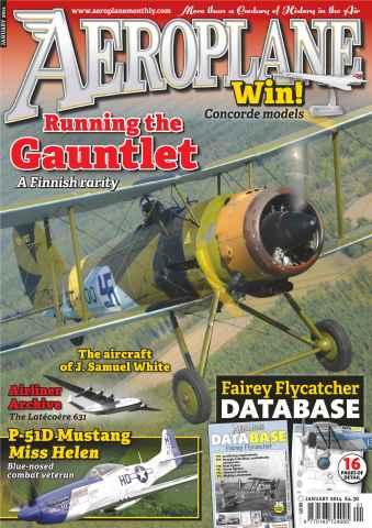 Aeroplane issue No.489 Running the Gauntlet