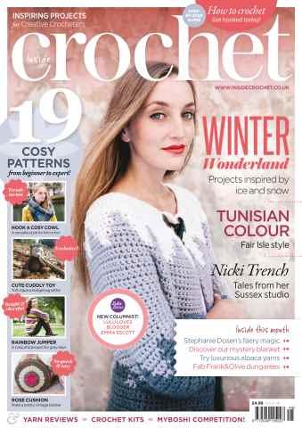 Inside Crochet issue December 2013 Issue 48
