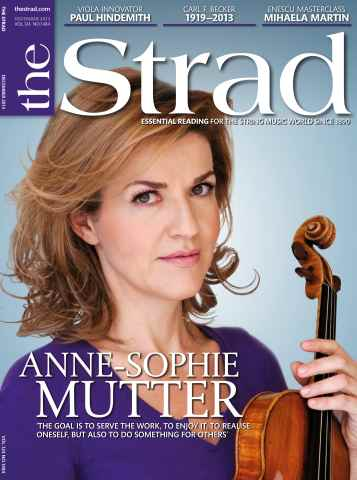 The Strad issue December 2013