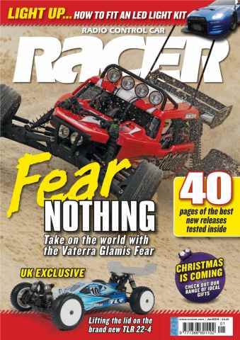 Radio Control Car Racer issue January 2014
