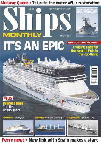 Ships Monthly issue Its an epic Ship of the Month