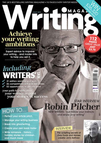 Writing Magazine issue July 2011
