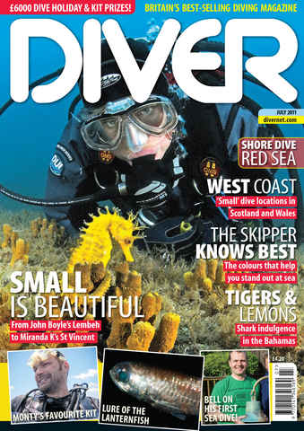 DIVER issue July 2011