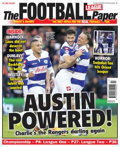 The Football League Paper issue 24th November 2013
