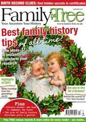Family Tree issue Family Tree Christmas 2013