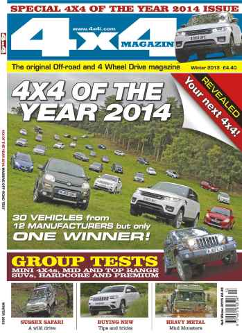 Landrover World issue 4x4 of the Year