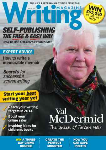 Writing Magazine issue January 2014