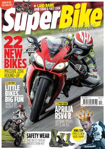 Superbike Magazine issue December 2013