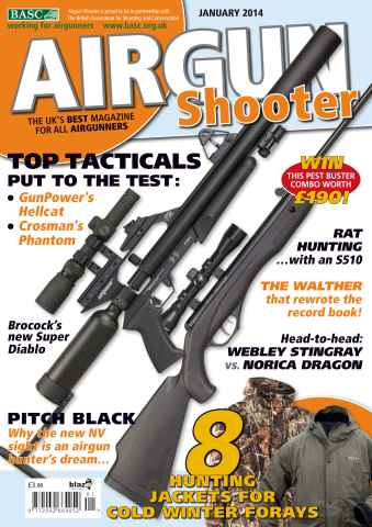Airgun Shooter issue January 2014