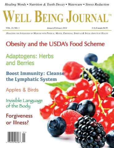 Well Being Journal issue January-February 2014