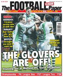 The Football League Paper issue 1st December 2013