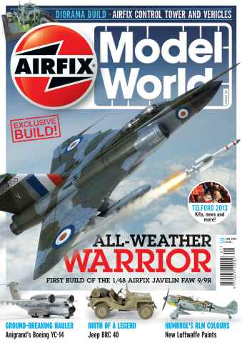 Airfix Model World issue January 2014