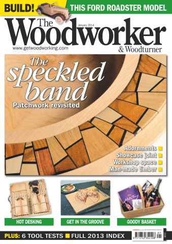 The Woodworker Magazine issue January 2014