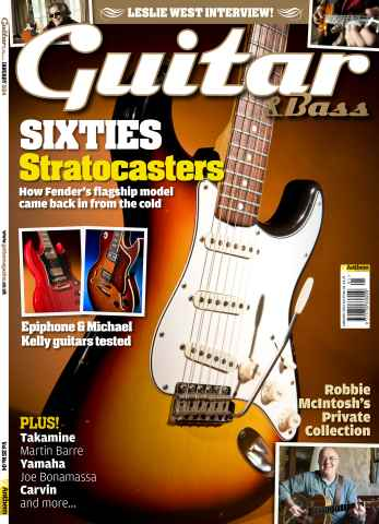 Guitar & Bass Magazine issue  January 2014