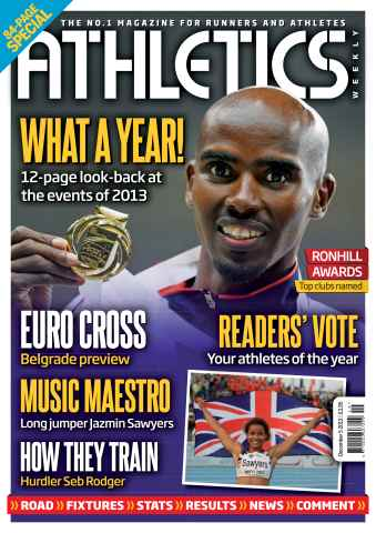 Athletics Weekly issue 05/12/2013