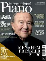 International Piano issue Jan - Feb 2014